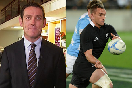3 News rugby reporter Jim Kayes says with Aaron Cruden in the side the All Blacks need to run the ball