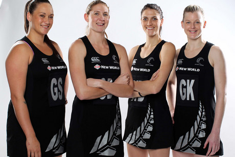 The new-look Silver Ferns (Photo: Michael Bradley Photography)