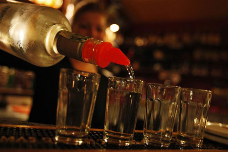 Cheap vodka nad rum laced with methanol has killed at least 19 people in Europe (file, Reuters)