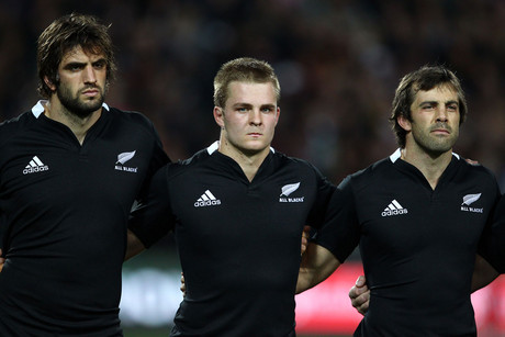 Sam Whitelock (l) calls the Springboks 'the old foe' (Photosport)