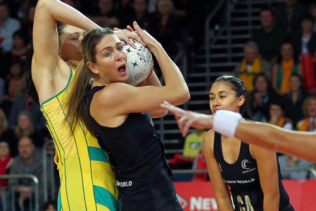 Silver Ferns star shooter Irene van Dyk (Photosport file)