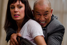 Temuera Morrison and Kate Elliott in Fresh Meat