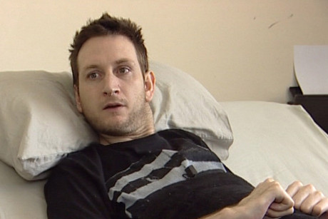 Tim Ward is a tetraplegic, and is confined to his bed