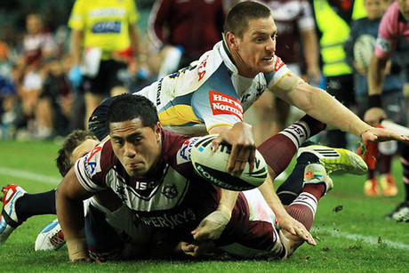 The Cowboys claim Jorge Taufua made a double movement (NZN)