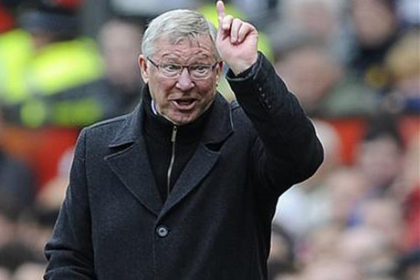 Sir Alex Ferguson: Oi you, no more (Reuters file)