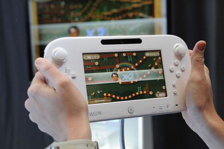 The Nintendo Wii U's GamePad (Reuters)