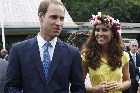 Britain's William and his wife Catherine, the Duchess of Cambridge (Reuters)