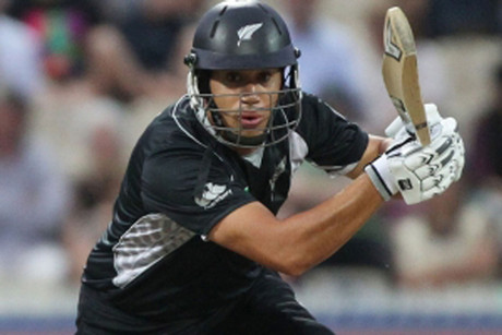BlackCaps captain and batsman Ross Taylor was in sublime form (file pic)