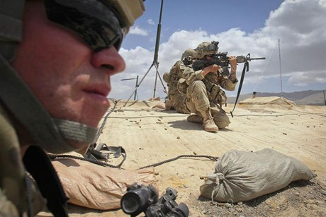 NATO soldiers in Afghanistan (Reuters)