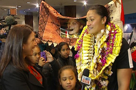 Valerie Adams said she's been overwhelmed by the support shes received 