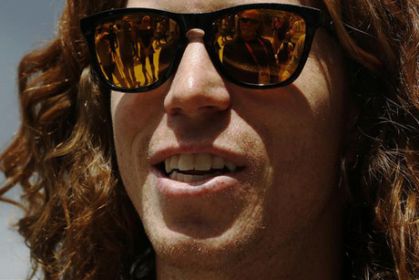 Olympic snowboard champion Shaun White (file pic)