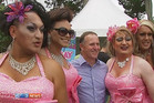 John Key at the Big Gay Out earlier this year  (file)