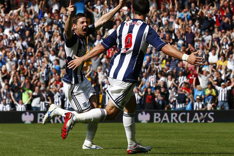 West Brom sit on seven competition points (file pic)