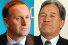 New Zealand First MP Winston Peters (R) says the matter needs to be put back to the people to vote on