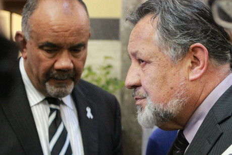 Te Ururoa Flavell and Pita Sharples from the Maori Party