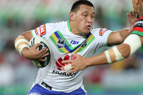 Canberra back-rower Josh Papalii (NZN)
