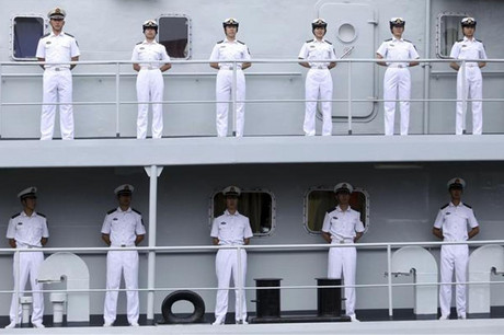CHina has been invited to send a naval ship to the Rim of the Pacific exercises (Reuters)