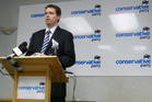 "Colin Craig says the New Zealand Parliament is ""too liberal"" (file)"