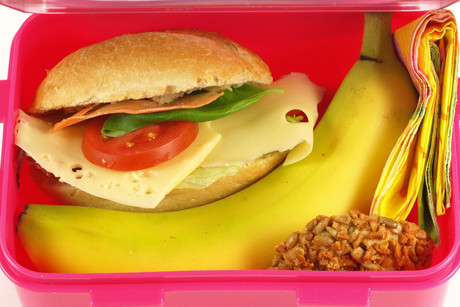 What makes a cheap and healthy school lunch? (file)