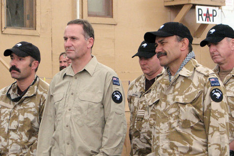 John Key confirmed he is sending SAS troops back to Afghanistan (file)