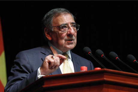 US Defence Secretary Leon Panetta in Beijing yesterday (Reuters)