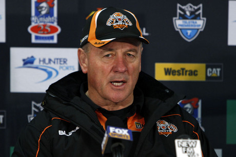 Wests Tigers coach Tim Sheens (AAP)