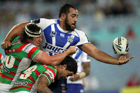 New Zealand's own Sam Kasiano has been in stellar form this season. Can it take him and his side to the Grand Final? (AAP file)