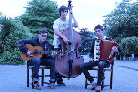 New Vinyl are a three-piece band with a folk jazz sound  (Photo: Eventfinder)