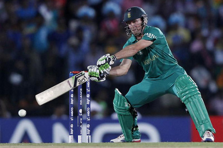 South Africa captain AB de Villiers (Reuters)