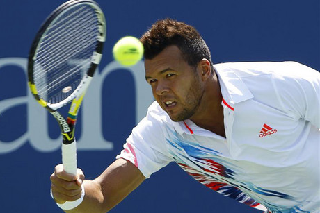 Top-seeded Jo-Wilfried Tsonga (Reuters)