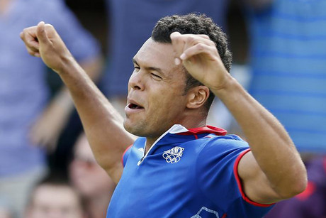 Top-seeded Jo-Wilfried Tsonga took the title with ease (Reuters file)