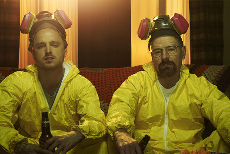Breaking Bad's Aaron Paul and Bryan Cranston