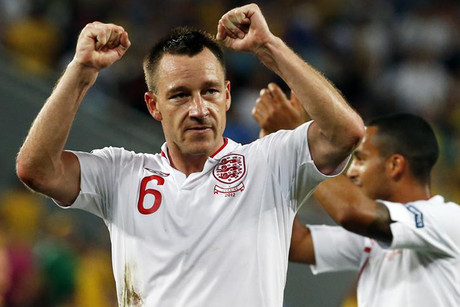 England's John Terry (Reuters file)