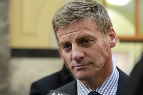 Bill English (Photo: Victoria Evans)