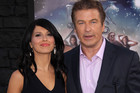 Hilaria Thomas and Alec Baldwin (AAP)