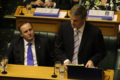 Prime Minister John Key (left) and Bill English will face questions from the Opposition today (Photo: Jared Mason)