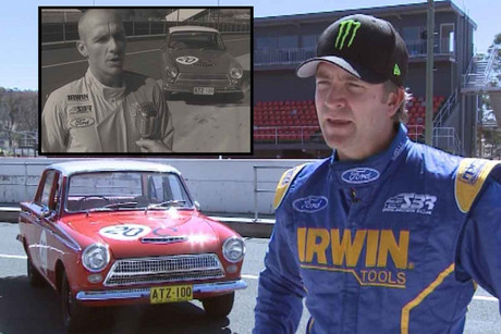 The 1963 Ford Cortina was brought back to the future at Mount Panorama