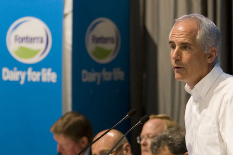 Former Fonterra chief executive Andrew Ferrier (file)