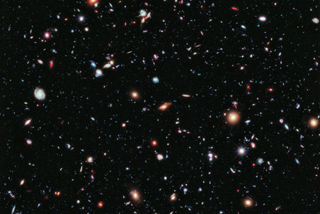 The 'eXtreme Deep Field' image contains 5,500 galaxies (NASA)