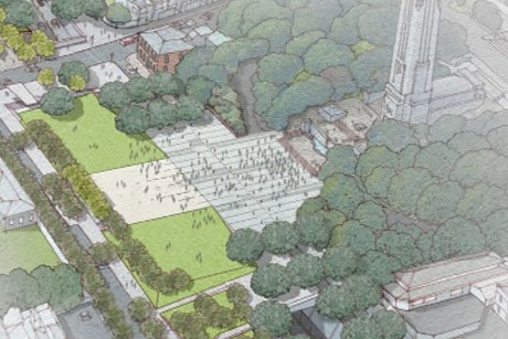 Artist's impression of the park