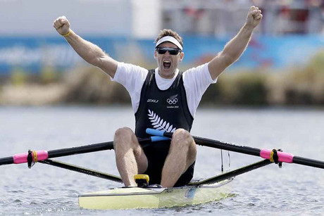 Kiwi London 2012 Olympic gold medal winner Mahe Drysdale (Reuters file)