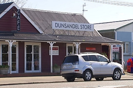 The Dunsandel Store, where Hobson works