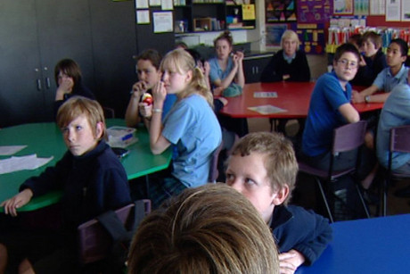 Students at Branston Intermediate need to convince the Government to save their school