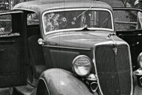 The auction includes items found in Bonnie and Clyde's car