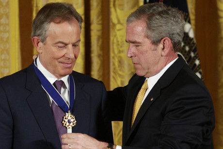 Blair and Bush (Reuters)