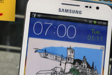 Samsung's Note (Reuters)