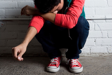 In the last year there was a significant rise in teen suicide (file)