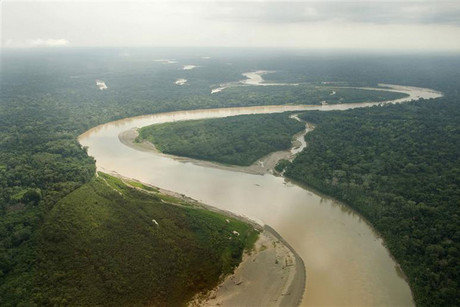 Zinc has spilled into a tributary of the Amazon river in Peru (file, Reuters)