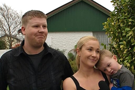The family home of Jess, Mike, Noah and Jake Stapley was hit hard by the first Canterbury earthquake