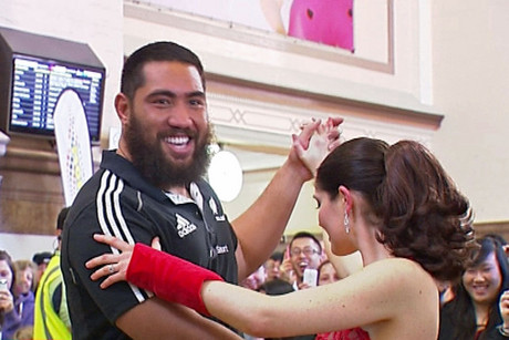 The All Blacks learn some Argentine tango ahead of Saturday's match against Argentina